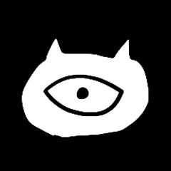 Monoeye cat