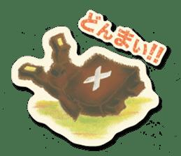 Shikakuma-chan and Marukuma-chan sticker #171203