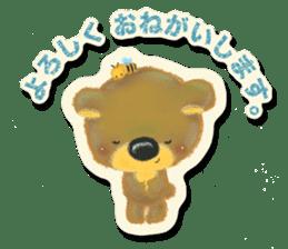Shikakuma-chan and Marukuma-chan sticker #171207