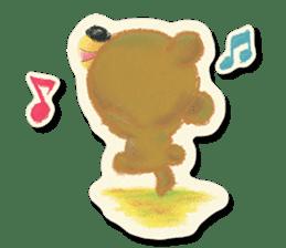 Shikakuma-chan and Marukuma-chan sticker #171214
