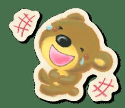 Shikakuma-chan and Marukuma-chan sticker #171217