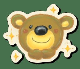 Shikakuma-chan and Marukuma-chan sticker #171218
