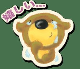 Shikakuma-chan and Marukuma-chan sticker #171220