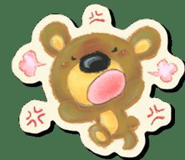 Shikakuma-chan and Marukuma-chan sticker #171221
