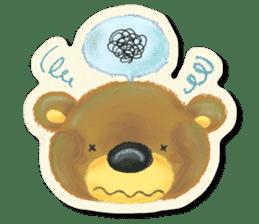 Shikakuma-chan and Marukuma-chan sticker #171223