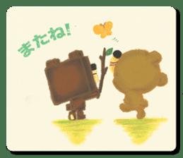 Shikakuma-chan and Marukuma-chan sticker #171240