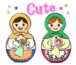 Together with MATRYOSHKA DOLL sticker #171299