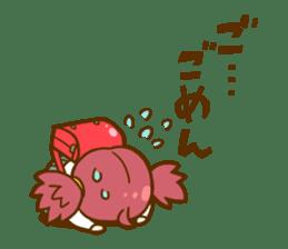 Momo-chan diary sticker #172091