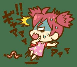 Momo-chan diary sticker #172097