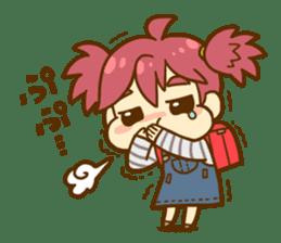 Momo-chan diary sticker #172106