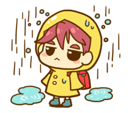 Momo-chan diary sticker #172111