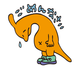 T-Rex And Friendz! sticker #172206