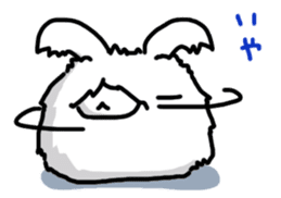 Angorabbit sticker #172402