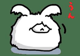 Angorabbit sticker #172403