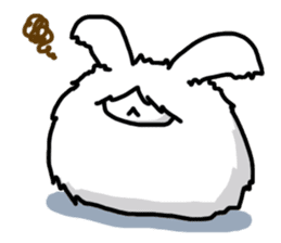 Angorabbit sticker #172405