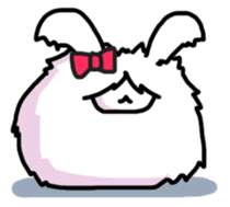 Angorabbit sticker #172437