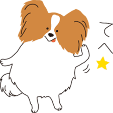 A Life with Cute Dogs sticker #172556