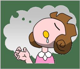 Daily Kumi-chan sticker #172924