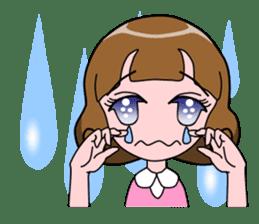 Daily Kumi-chan sticker #172934