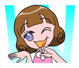 Daily Kumi-chan sticker #172939