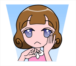 Daily Kumi-chan sticker #172941