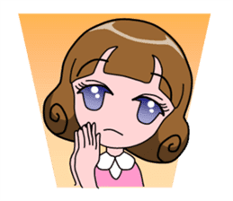 Daily Kumi-chan sticker #172943
