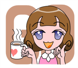 Daily Kumi-chan sticker #172945