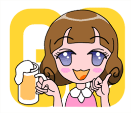 Daily Kumi-chan sticker #172947
