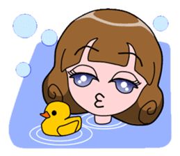 Daily Kumi-chan sticker #172950