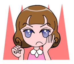 Daily Kumi-chan sticker #172957