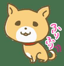 "The dog named ""MAMETA"" sticker #174402"