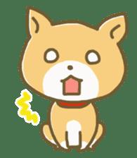 "The dog named ""MAMETA"" sticker #174403"