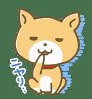 "The dog named ""MAMETA"" sticker #174407"