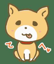 "The dog named ""MAMETA"" sticker #174412"