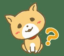 "The dog named ""MAMETA"" sticker #174413"