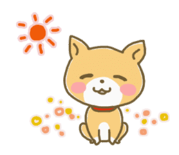 "The dog named ""MAMETA"" sticker #174422"