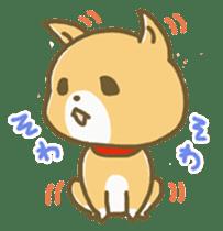 "The dog named ""MAMETA"" sticker #174427"
