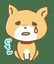 "The dog named ""MAMETA"" sticker #174428"