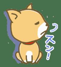 "The dog named ""MAMETA"" sticker #174430"