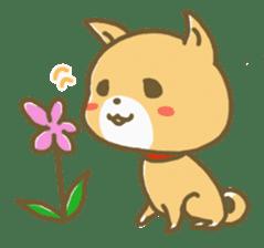 "The dog named ""MAMETA"" sticker #174433"