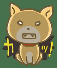 "The dog named ""MAMETA"" sticker #174438"