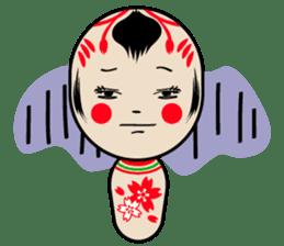KOKESHI-CHAN sticker #174822