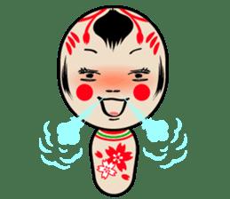 KOKESHI-CHAN sticker #174828