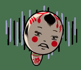 KOKESHI-CHAN sticker #174832