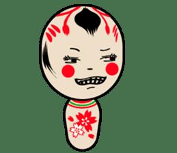 KOKESHI-CHAN sticker #174835