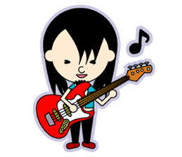 ROCK'N ROLL BAND sticker #175043