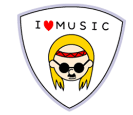 ROCK'N ROLL BAND sticker #175077