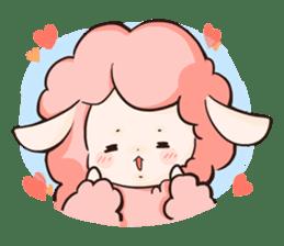 Fluffy sheep sticker #175243