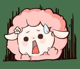 Fluffy sheep sticker #175248