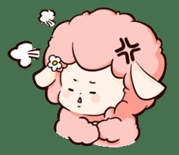 Fluffy sheep sticker #175255